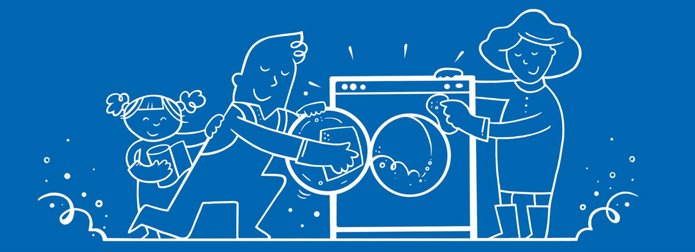 Flott Hvordan rengjøre vaskemaskinen i 5 enkle trinn - Lotus JT-04