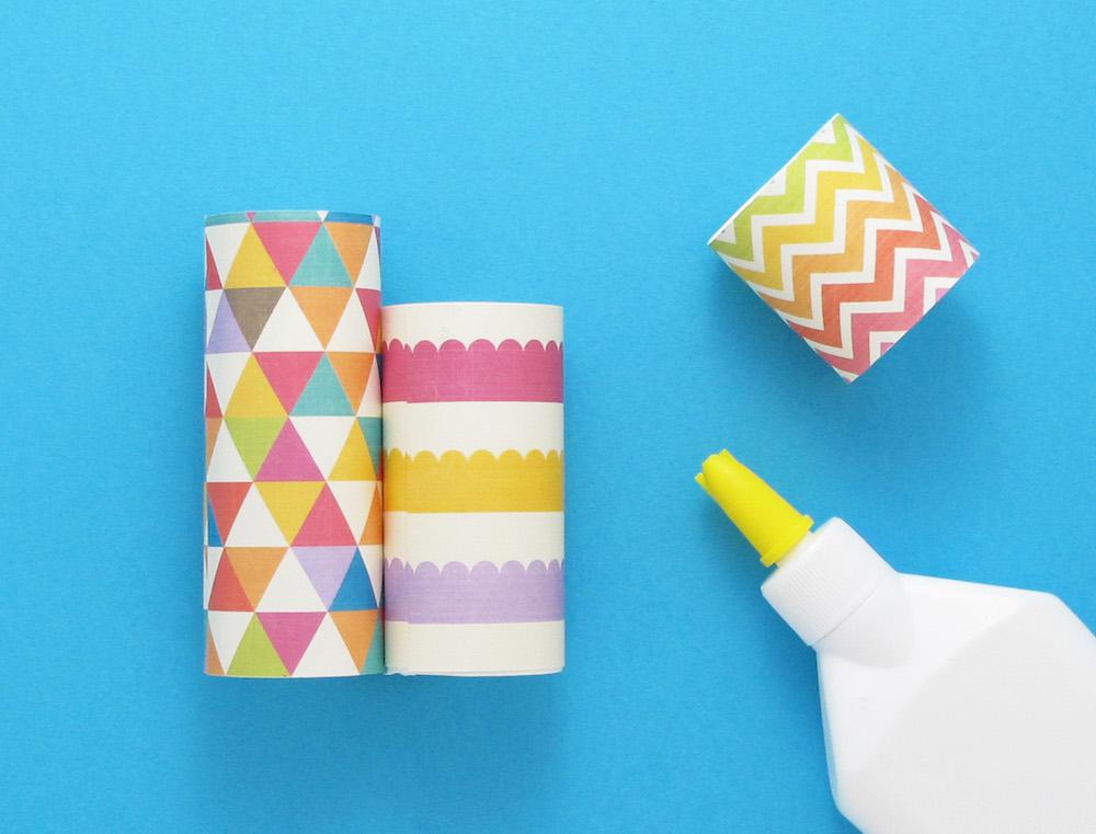 diy pot crayon en rouleaux de papier toilette lotus. Black Bedroom Furniture Sets. Home Design Ideas