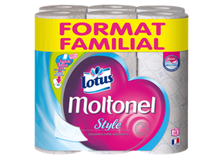 lotus moltonel style format familial 18 blanc