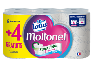 lotus moltonel sans tube style 8plus4